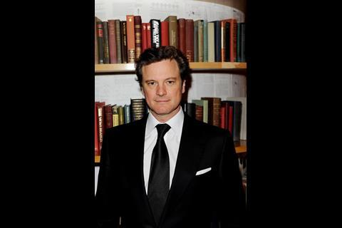 Colin Firth, whose film The King's Speech is another gala at LFF